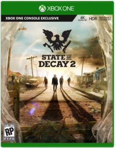 State of Decay 2: Xbox One X game in 4k & HDR
